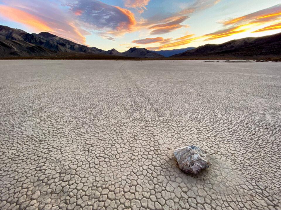 Racetrack Playa, Parque Nacional del Valle de la Muerte
