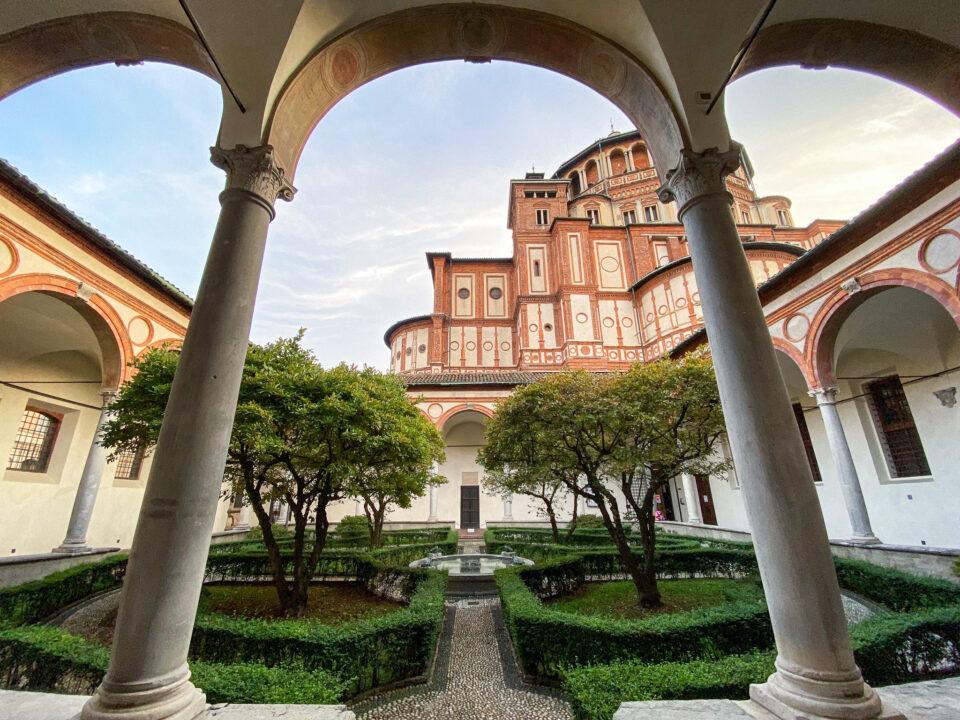 Santa Maria Delle Grazie, Milán, Italia