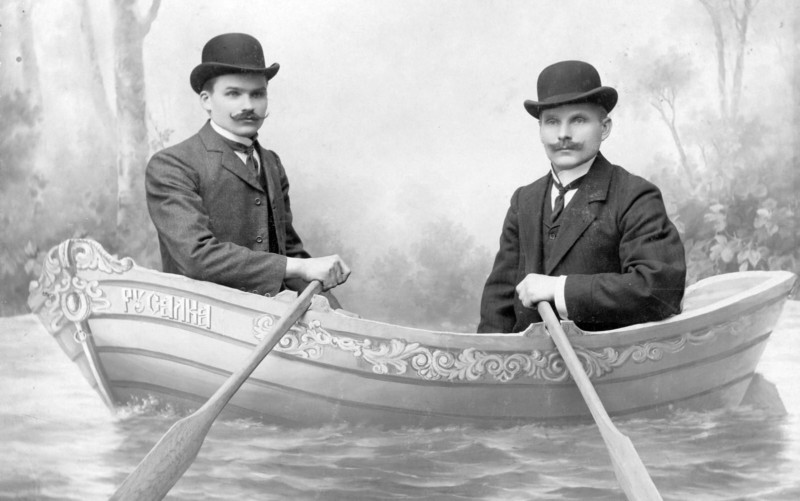 La extraña moda de las fotos de la época zarista