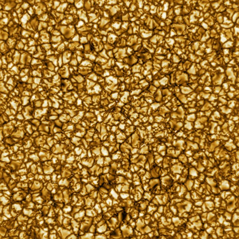 Estas son las imágenes de mayor resolución jamás tomadas de la superficie del Sol