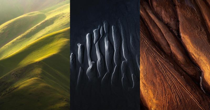 """10 consejos para fotografiar """"Paisajes Abstractos"""