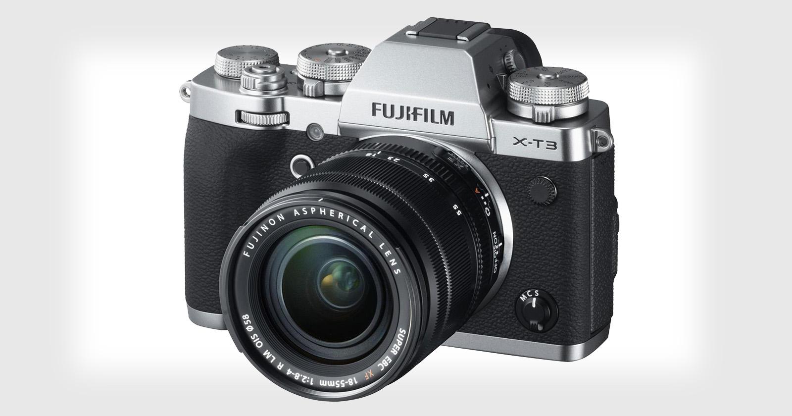 Fujifilm lanza una importante actualización de seguimiento de autoenfoque para el X-T3