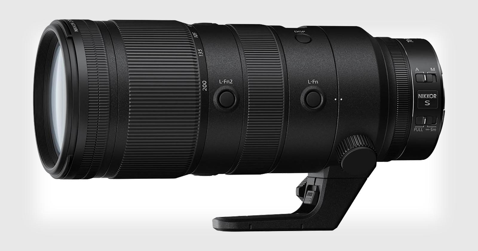 """La nueva lente de Nikon de 70-200mm f/2.8 Z está retrasada por """"razones de producción""""."""