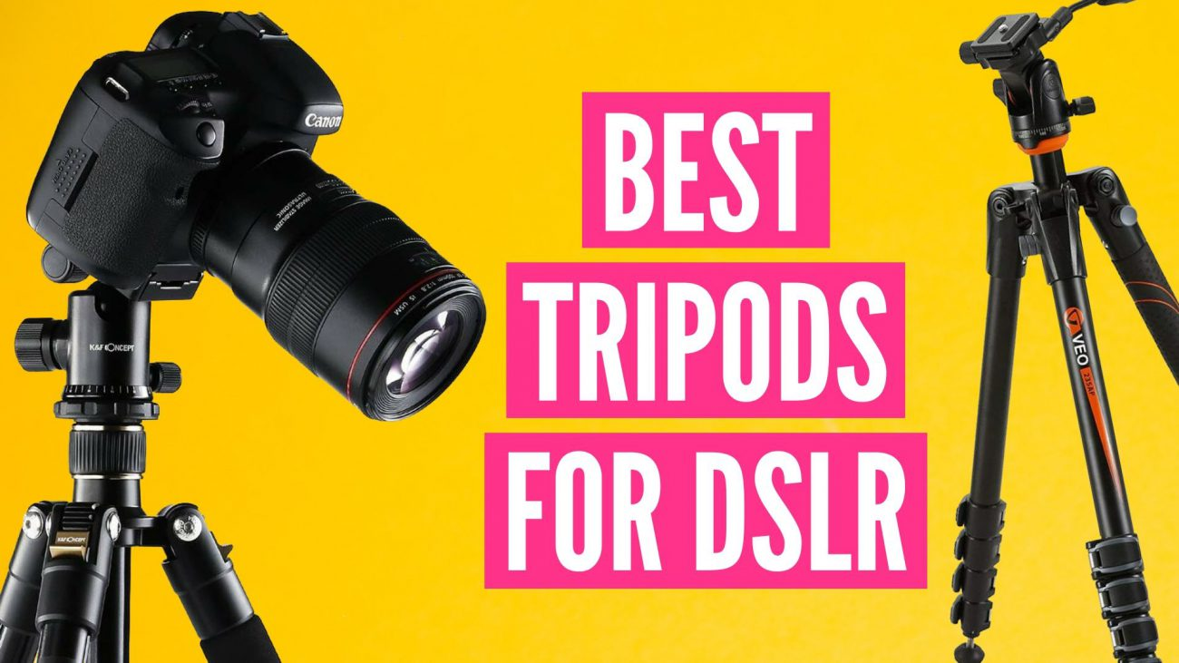 Los 10 mejores trípodes para DSLR en 2020