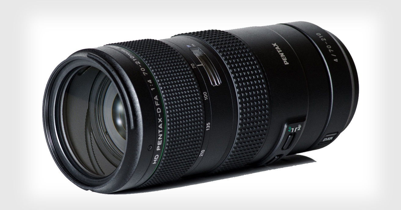 Pentax revela un lente extrañamente familiar de 70-210mm f/4 para las DSLR K-Mount