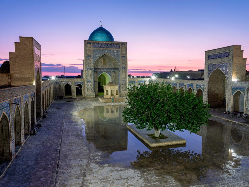 Mezquita Poi Kalon, Bujara, Uzbekistán
