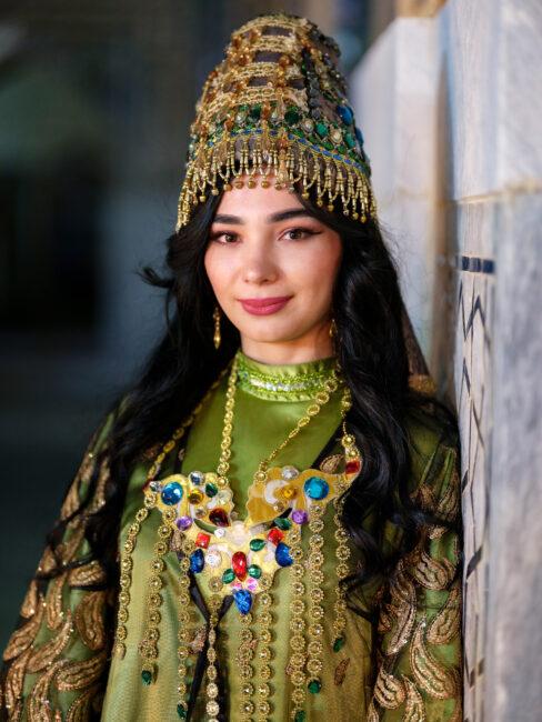 Imagen de un actor de teatro de Uzbekistán