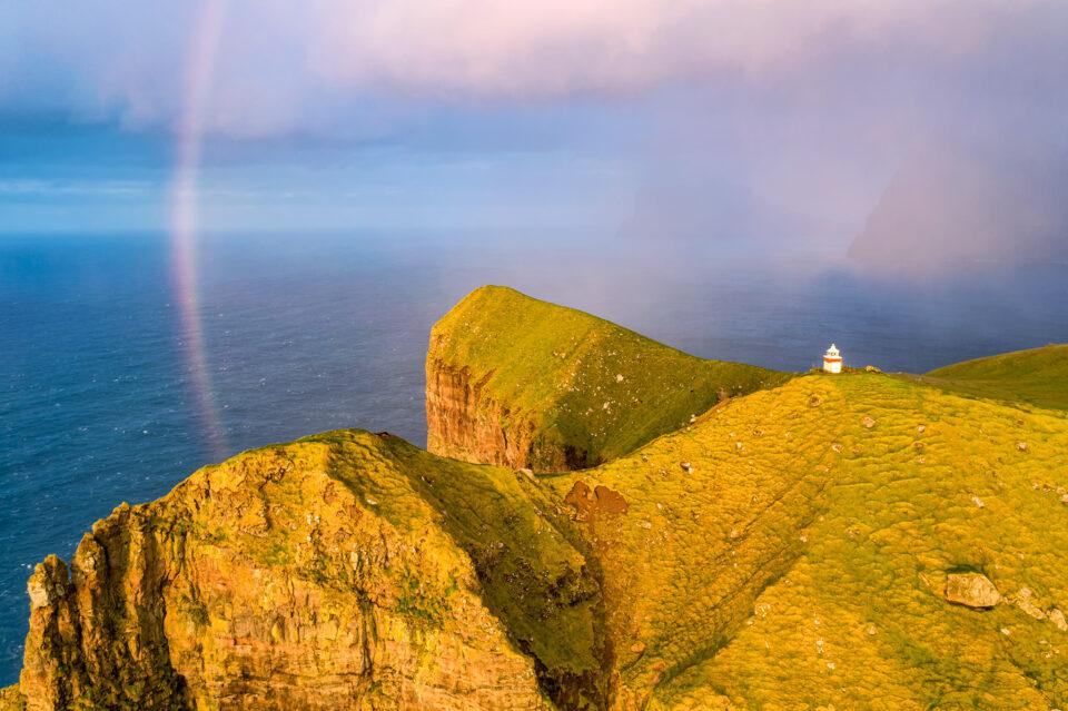 Arco iris de las Islas Feroe