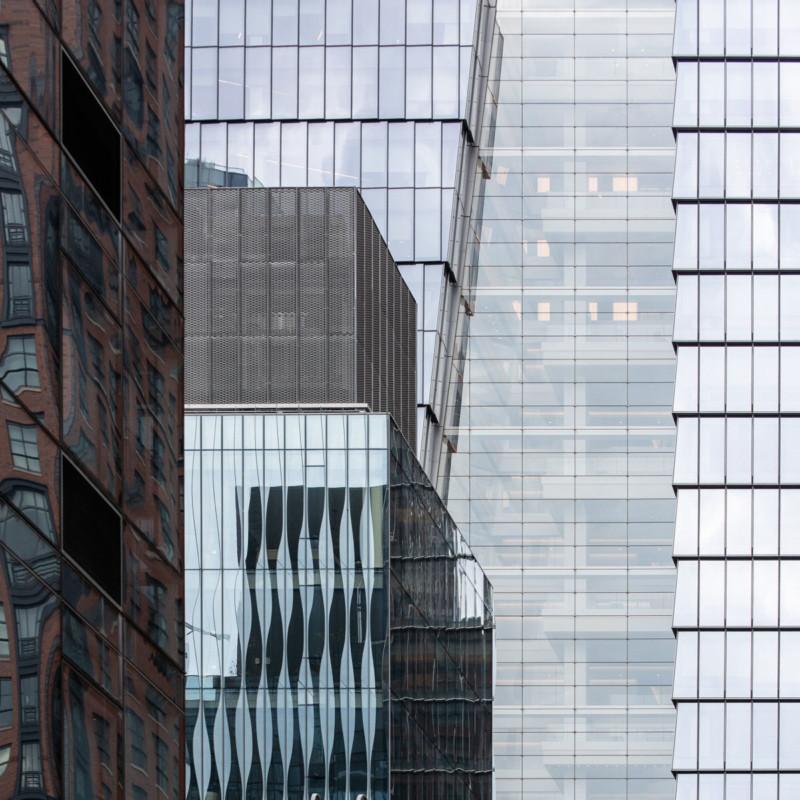 """La ciudad de Nueva York fotografiada como una """"colcha urbana"""""""