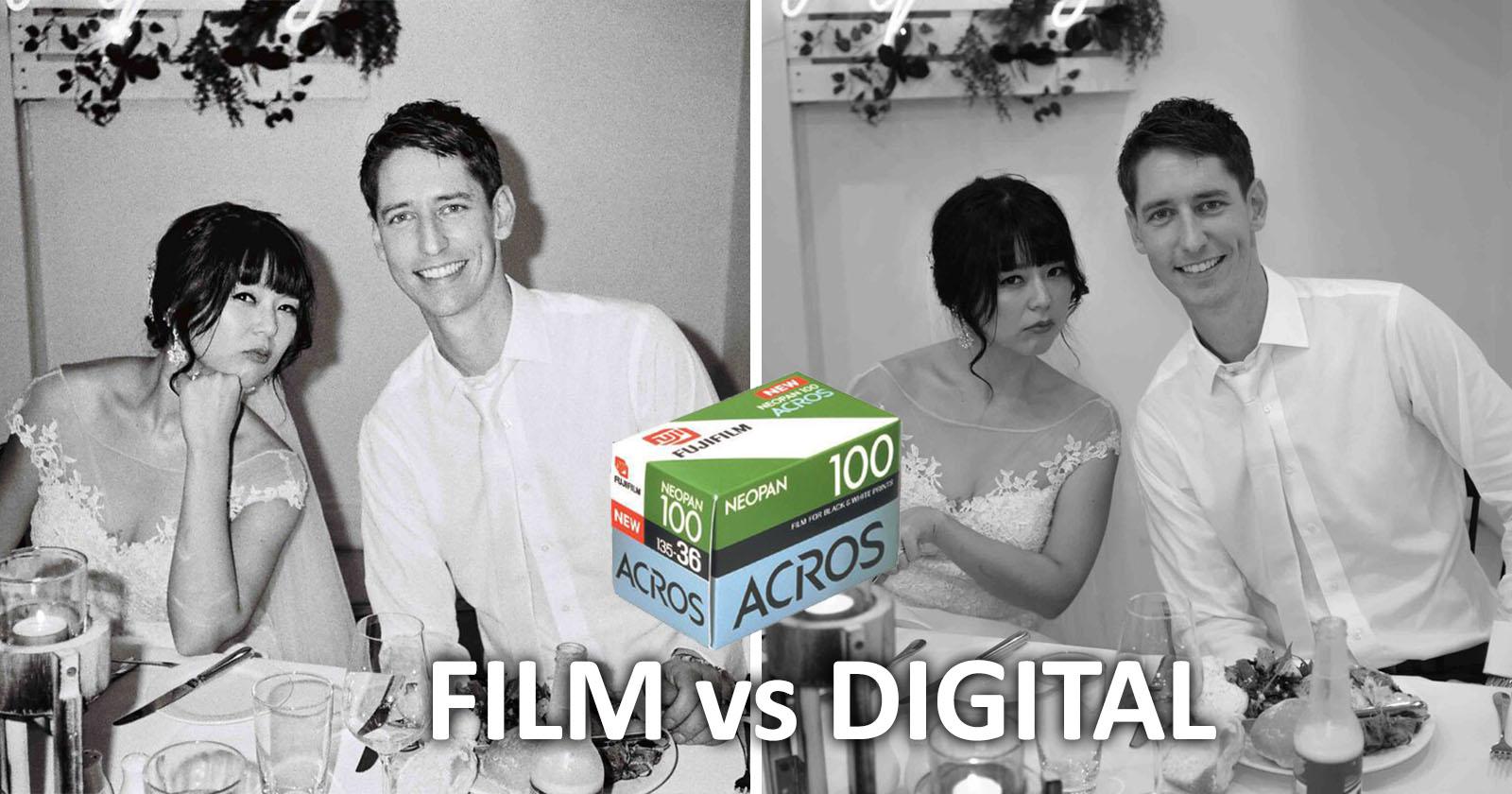 Fotografiar una boda en Fujifilm ACROS