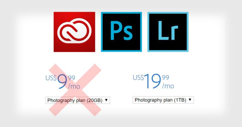 Adobe, por esto los fotógrafos te odian