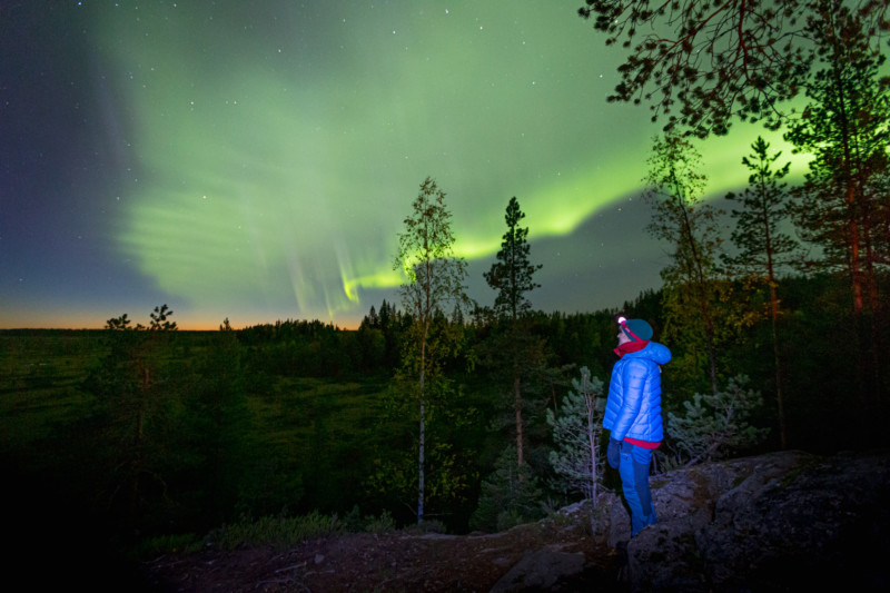 """Los cazadores de Auroras han descubierto un nuevo tipo de aurora llamado """"Dunas""""."""