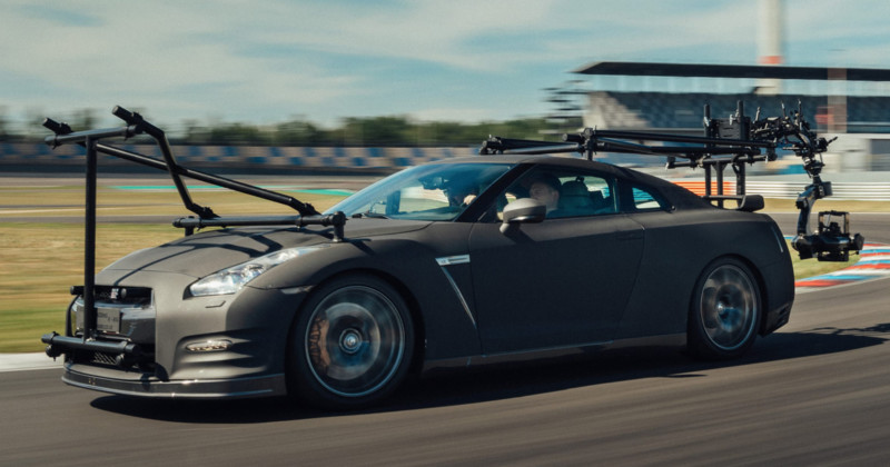 """Nissan convirtió un coche deportivo en """"el último equipo de cámara de alto rendimiento"""