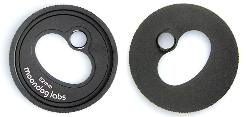Esta montura te permite usar filtros de lentes de 52mm en tu iPhone