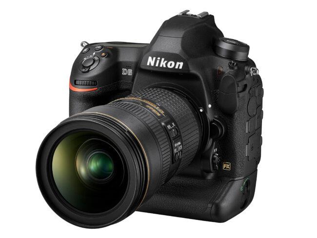 Nikon D6 Vista frontal