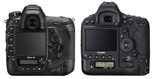 Nikon D6 vs Canon 1D X Mark III Volver