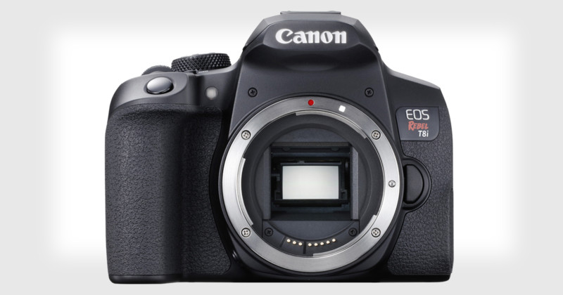 Canon presenta la cámara DSLR Rebel T8i con Eye AF y soporte para video vertical