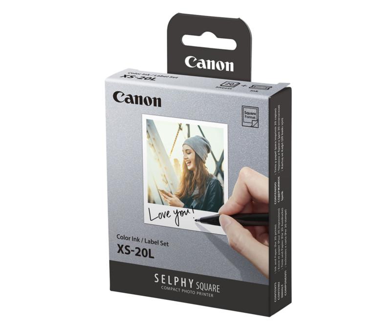 Canon lanza una impresora fotográfica 'Selphy Square' de bolsillo