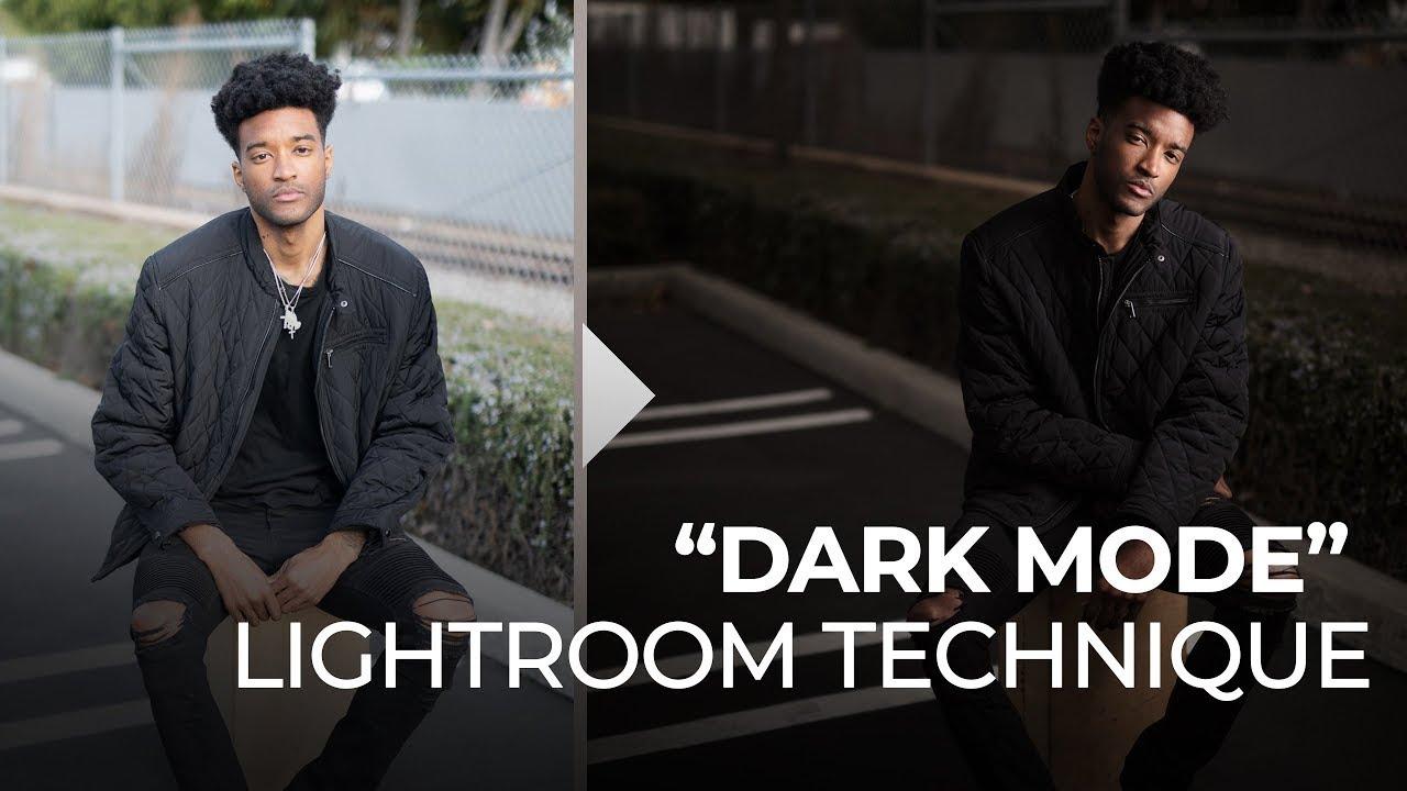 """Cómo usar la técnica de edición de fotos del """"Modo Oscuro""""."""