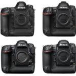Comparación de las cámaras DSLR Nikon Flagship (D3, D3s, D3x, D4, D4s, D5 y D6)