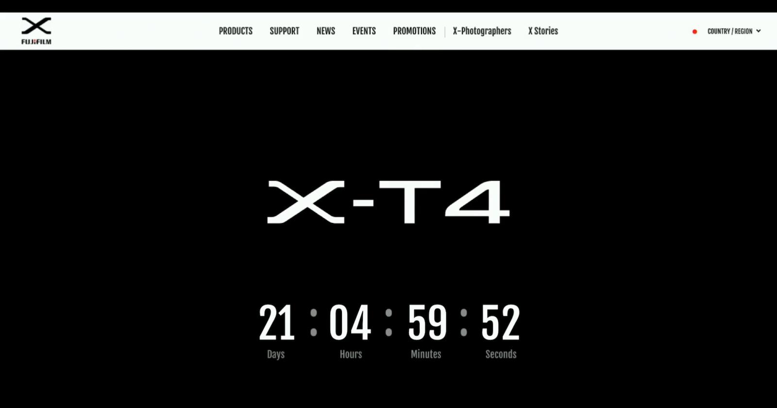 Fujifilm revelará la X-T4 el 26 de febrero