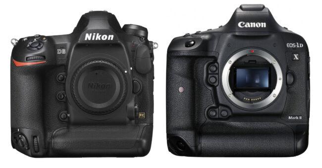 Nikon D6 contra Canon 1D X Mark III
