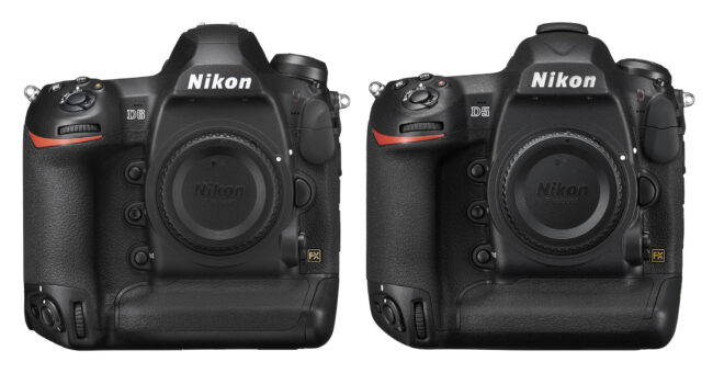 Nikon D6 vs D5