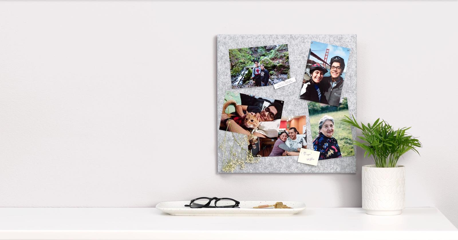 Servicio de suscripción automática a Google Testing 'Monthly Photo Prints'.