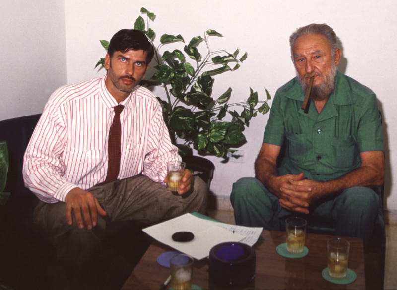 Mi sesión de retratos con Fidel Castro