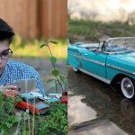 Un niño autista de 12 años recauda más de 42.000 dólares para publicar las fotos de su coche en miniatura