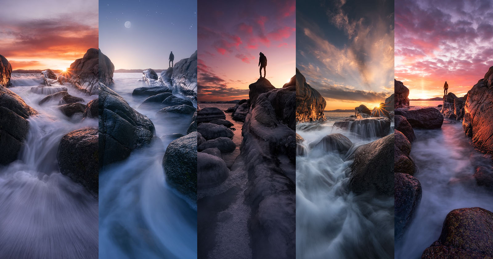 Fotografiar la misma composición durante tres años