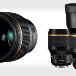 """Pentax presenta """"la Estrella de la marca' lente 85mm f/1.4"""