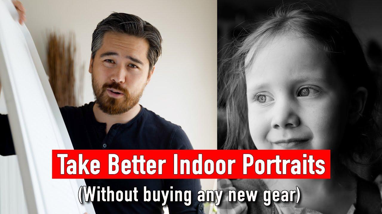 Simples Consejos para Tomar Mejores Retratos de Interior Sin necesidad de Comprar Más equipamiento